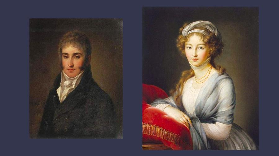 Адам Чарторыйский и Елизавета Алекceевна. Фото © Wikipedia
