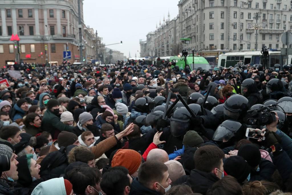 Задержаны ещё двое участников несогласованной акции в Москве