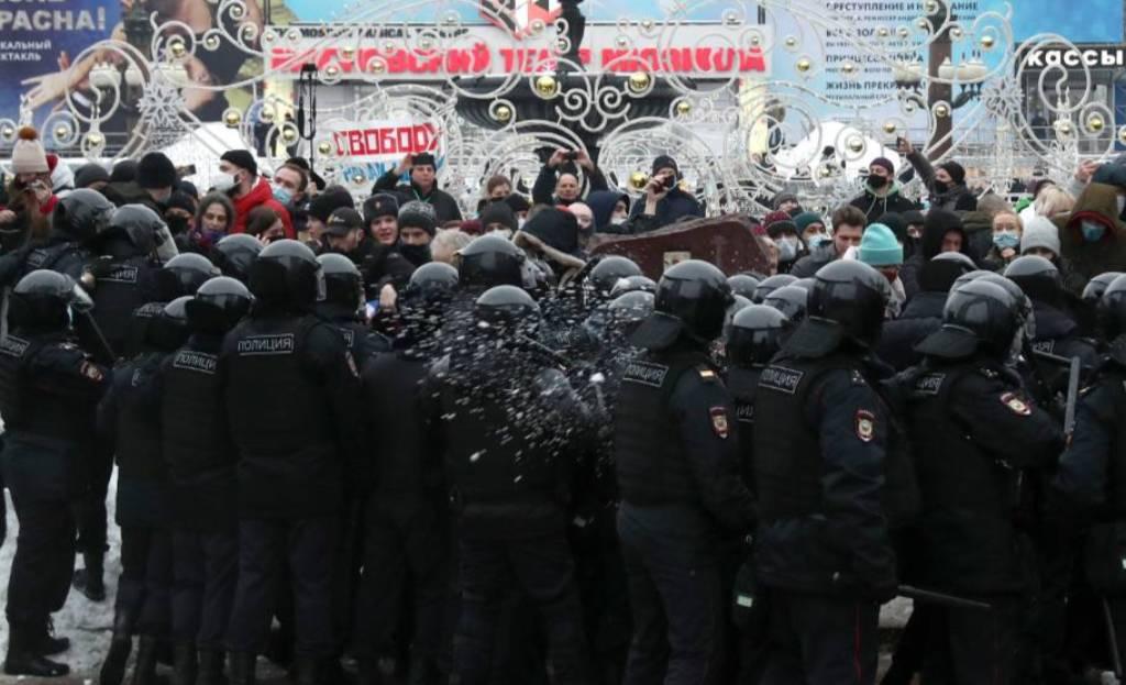 В Москве за участие в незаконных акциях к административной ответственности привлекли 267 человек
