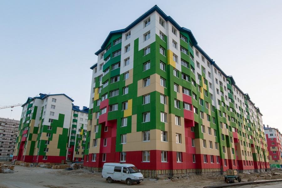 Новые микрорайоны Ноябрьска. Фото © Группа ВИС