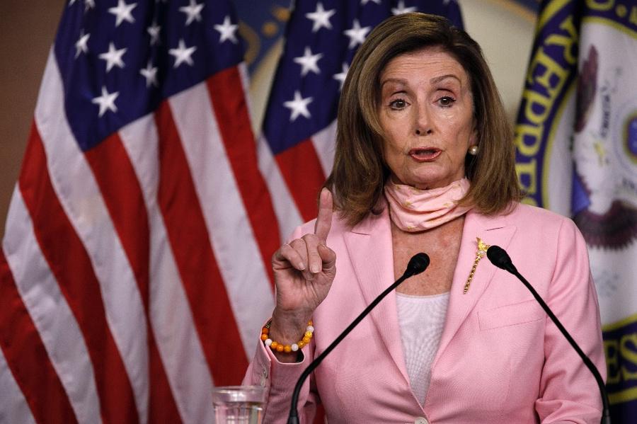 <p>Спикер палаты представителей США Нэнси Пелоси. Фото © ТАСС / AP Photo / Jacquelyn Martin</p>