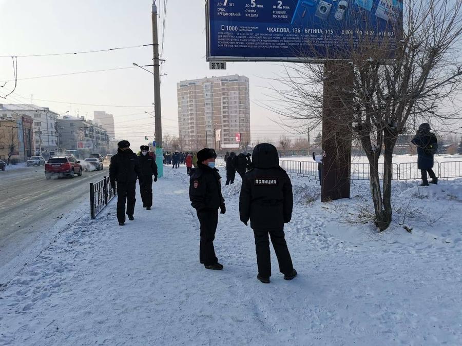 """Чита. Фото © Telegram / """"Забайкальский рабочий"""""""