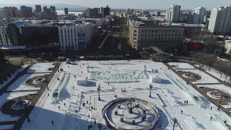 <p>Хабаровск. Фото © Соцсети</p>