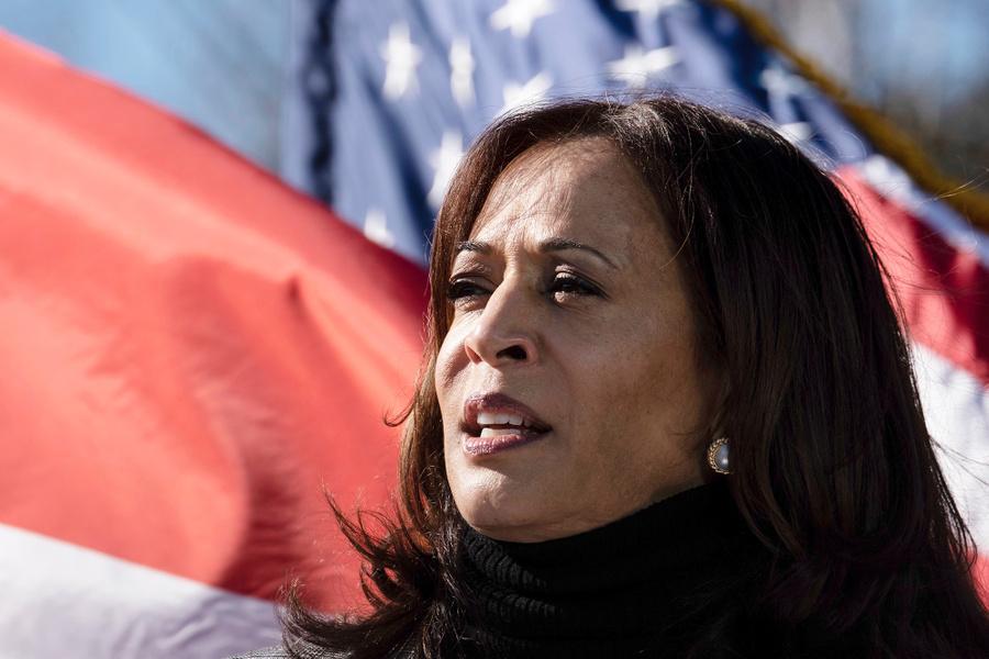 <p>Будущий вице-президент США Камала Харрис. Фото © ТАСС / AP Photo / Ben Gray</p>
