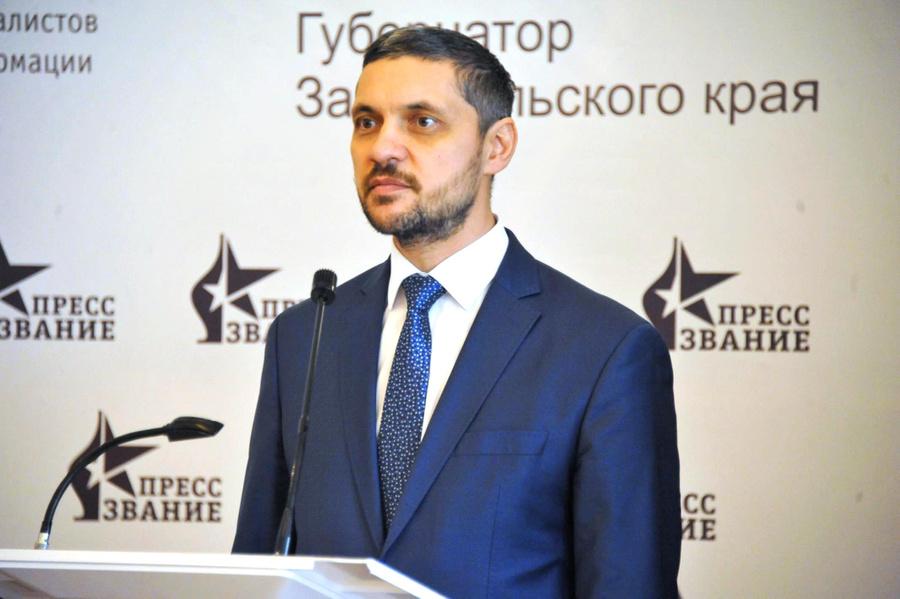 <p>Александр Осипов. Фото © Пресс-служба Правительства Забайкальского края</p>