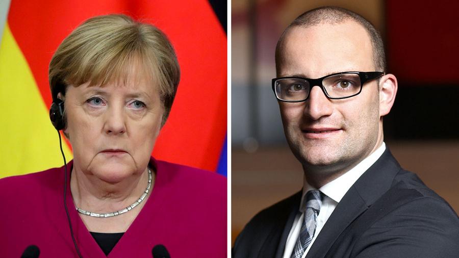 "<p>Фото © <a href=""https://www.google.com/url?sa=i&url=https://commons.wikimedia.org/wiki/File:Angela_Merkel_(2020-01-11).jpg&psig=AOvVaw3ZsJUlNpJw8ibHmArBOtna&ust=1610196441575000&source=images&cd=vfe&ved=0CAMQjB1qFwoTCNCa_rCvjO4CFQAAAAAdAAAAABAD"" target=""_blank"" rel=""noopener noreferrer"">Wikimedia Commons</a>, <a href=""https://www.google.com/url?sa=i&url=https://commons.wikimedia.org/wiki/File:Portrait_of_jens_Spahn_MdB.jpg&psig=AOvVaw2JoKKwEWYu59MTXDft8nWr&ust=1610196365106000&source=images&cd=vfe&ved=0CAMQjB1qFwoTCNDptYivjO4CFQAAAAAdAAAAABAD"" target=""_blank"" rel=""noopener noreferrer"">Wikimedia Commons</a></p>"