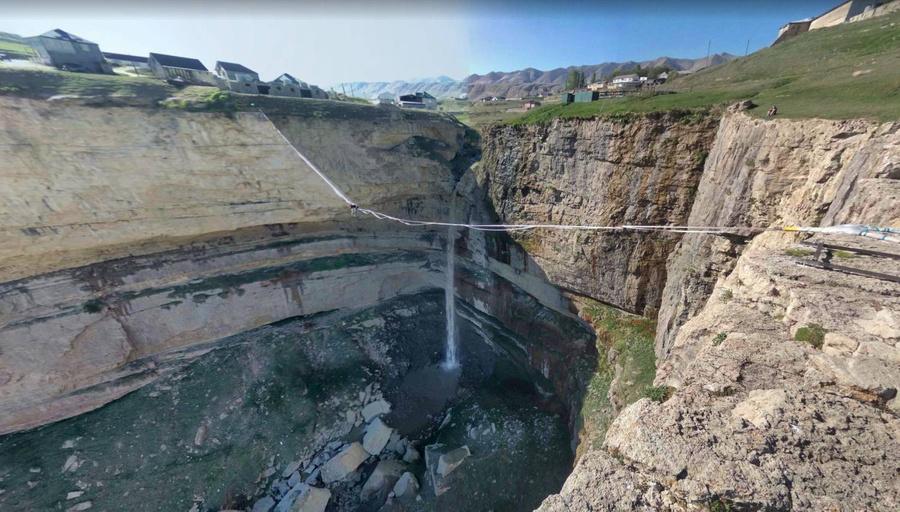 Водопад Тобот в Дагестане. Фото © Google Maps