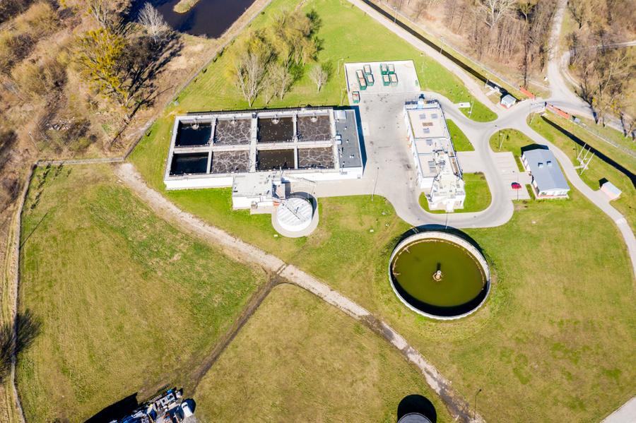 Станция водоочистки в Дании. Фото © Shutterstock
