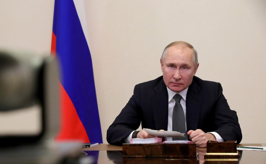 <p>Президент РФ Владимир Путин. Фото © Kremlin</p><p></p>