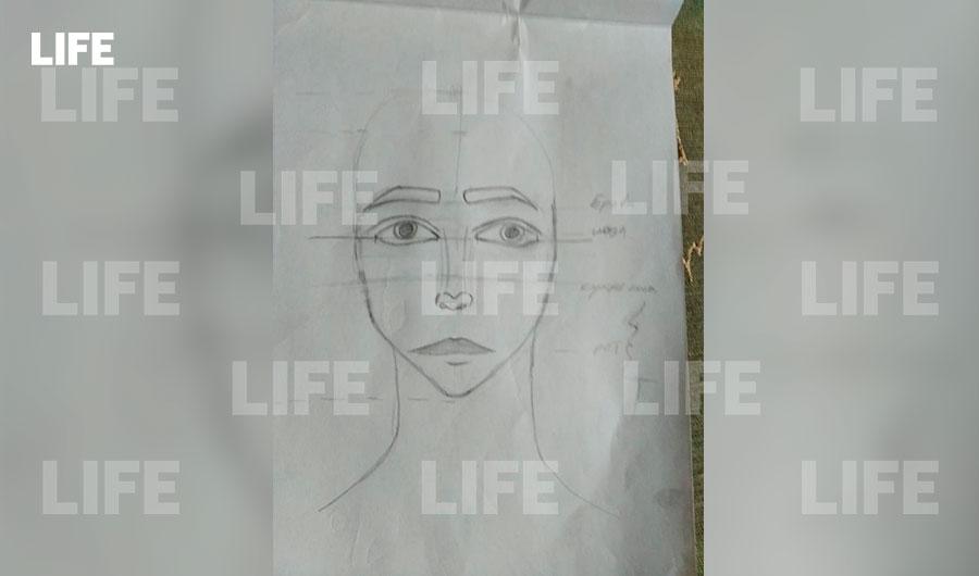Рисунок отравившихся школьниц. Фото © LIFE