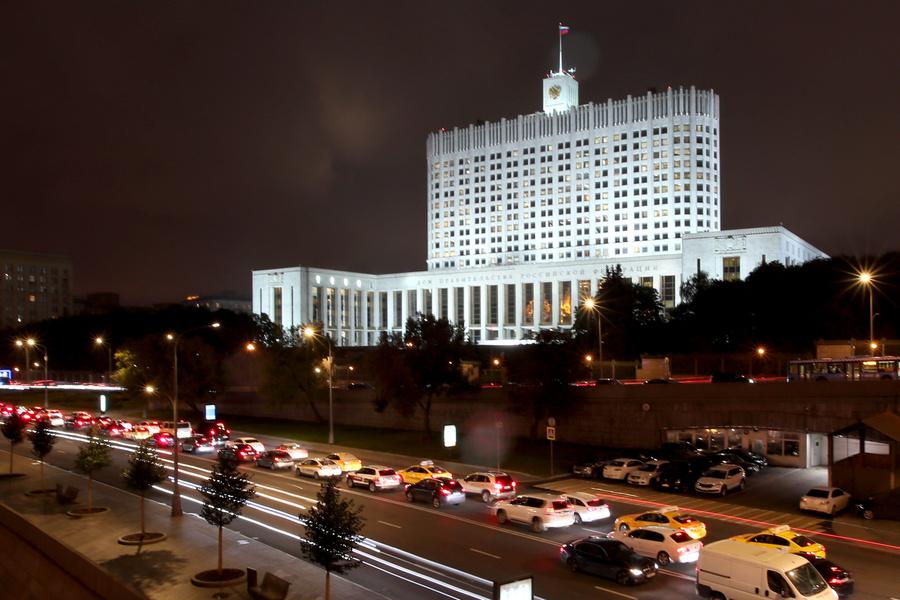 <p>Дом Правительства РФ. Фото © ТАСС / Владимир Гердо</p>