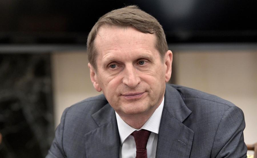 <p>Директор Службы внешней разведки РФ Сергей Нарышкин. Фото © Kremlin</p>