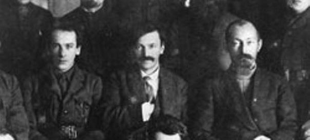 Г. Ягода, В. Менжинский, Ф. Дзержинский. 1924 Фото © Wikiprdia