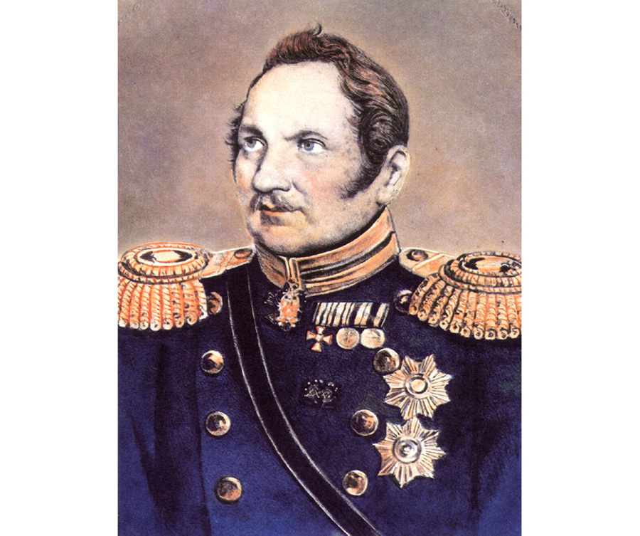 Фаддей Фаддеевич Беллинсгаузен. Фото ©wikipedia