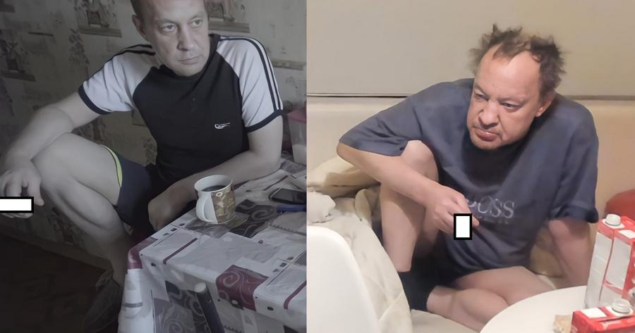 Эдуард в 2016 и в 2021 году. Скриншот © Соцсети