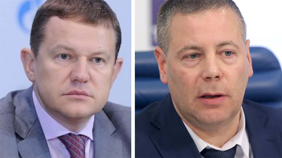 <p>Андрей Круглов (слева) и Михаил Евраев (справа). Фото © Finparty.ru, ТАСС / Гердо Владимир</p>