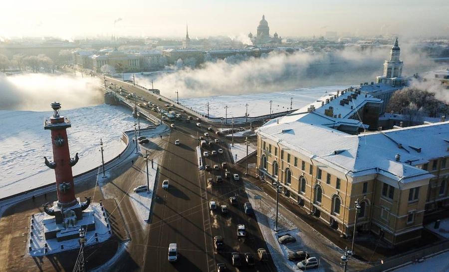 <p>Санкт-Петербург. Фото © ТАСС / Пётр Ковалёв</p>