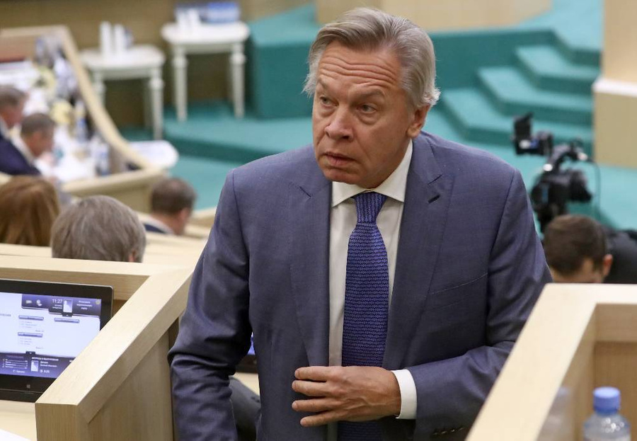 <p>Алексей Пушков. Фото © ТАСС / Станислав Красильников</p>
