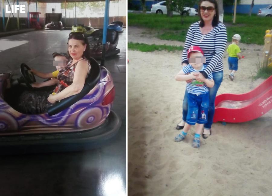 Татьяна Калентьева и Миша. Фото предоставила Лайфу Татьяна
