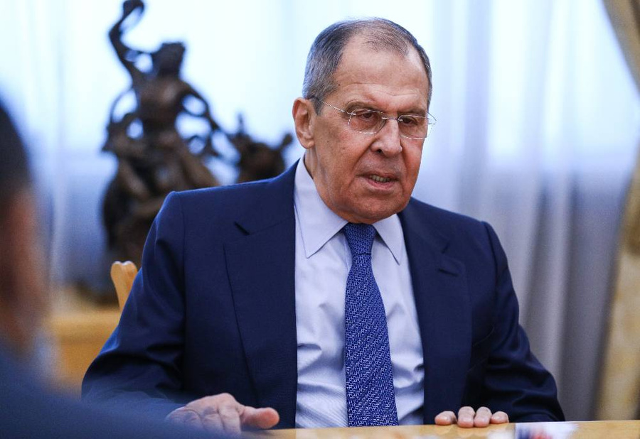 <p>Сергей Лавров. Фото © ТАСС / Пресс-служба МИД РФ</p>