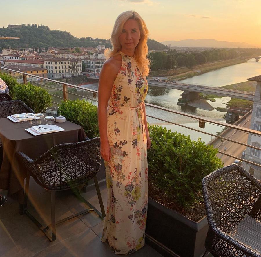 Ирина Солдатова в отеле The Westin Excelsior во Флоренции. Фото © Instagram / soldatova_doc