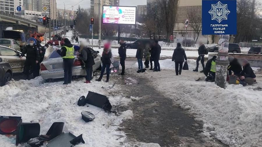 Фото © Facebook / Патрульная полиция Киева