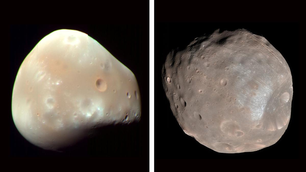 Учёные разгадали одну из загадок спутников Марса — Фобоса и Деймоса