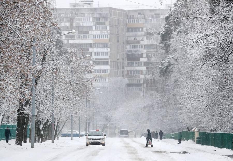 """<p>Синоптики напомнили москвичам о """"барической пиле"""". Фото © ТАСС / Гавриил Григоров</p>"""