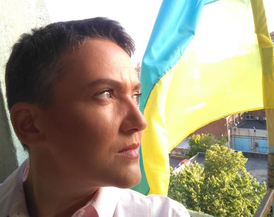 """<p>Надежда Савченко. Фото © Facebook / <a href=""""https://www.facebook.com/Savchenko.Nadiia/photos/3021306457966634"""" target=""""_blank"""" rel=""""noopener noreferrer"""">Надія Савченко</a></p>"""