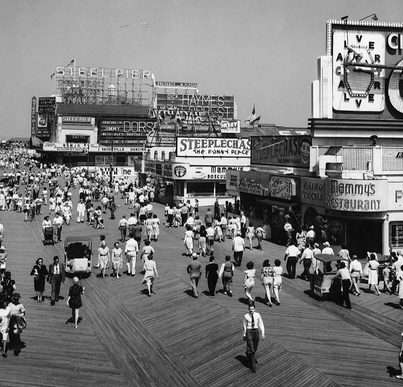 Атлантик-Сити, 30-е годы XX века. Фото © Getty Images