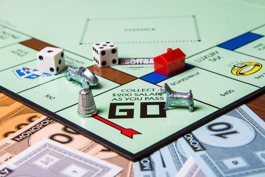"<p>Игра ""Монополия"". Фото © Shutterstock</p>"