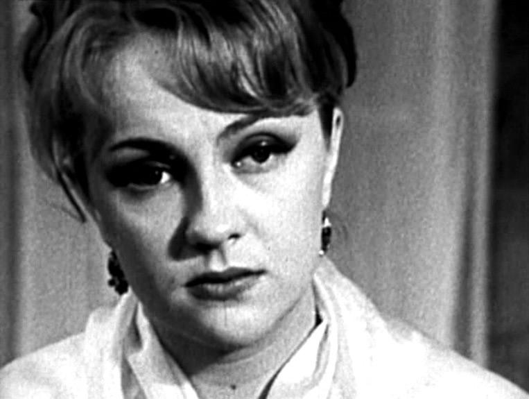 """<p>Екатерина Градова. Кадр из фильма """"Таланты и поклонники"""" (1971)</p>"""