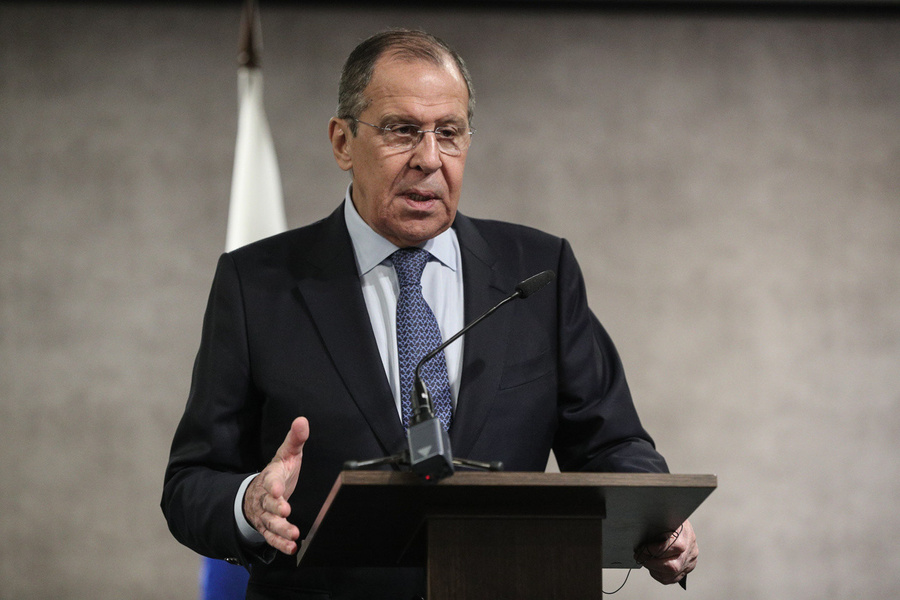 <p>Министр иностранных дел России Сергей Лавров.Фото ©МИД России</p>