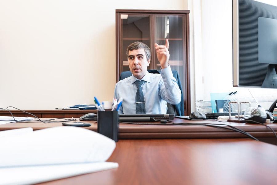 """Генеральный директор компании """"Космокурс"""" Павел Пушкин. Фото ©LIFE"""