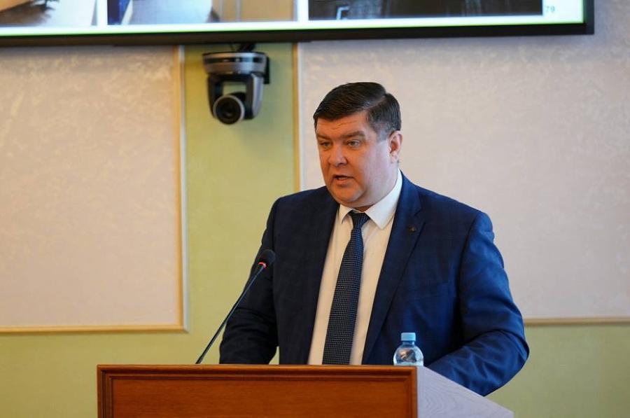 <p>Министр ЖКХ Башкирии Борис Беляев. Фото © Cайт Администрации Республики Башкортостан</p>