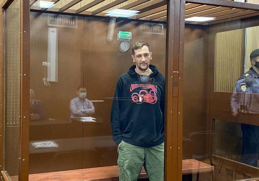 <p>Олег Навальный. Фото © Пресс-служба Тверского суда</p>