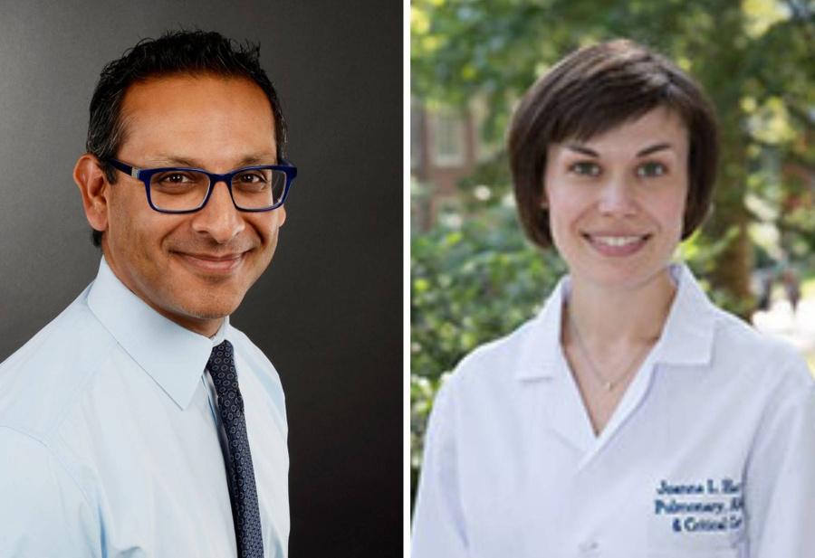 Сонни Дханани (слева) и Джоанна Ли Харт. Фото © University of Ottawa / Perelman School of Medicine