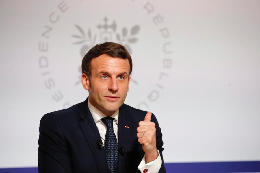<p>Президент Франции Эмманюэль Макрон. Фото © ТАСС / EPA / FRANCOIS MORI</p>