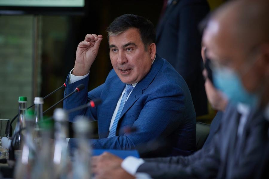 <p>Михаил Саакашвили. Фото © Национальный совет реформ Украины</p>