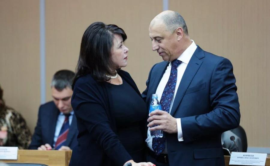 Депутат Сергей Сопчук в Госдуме. Фото ©portofranko-vl.ru