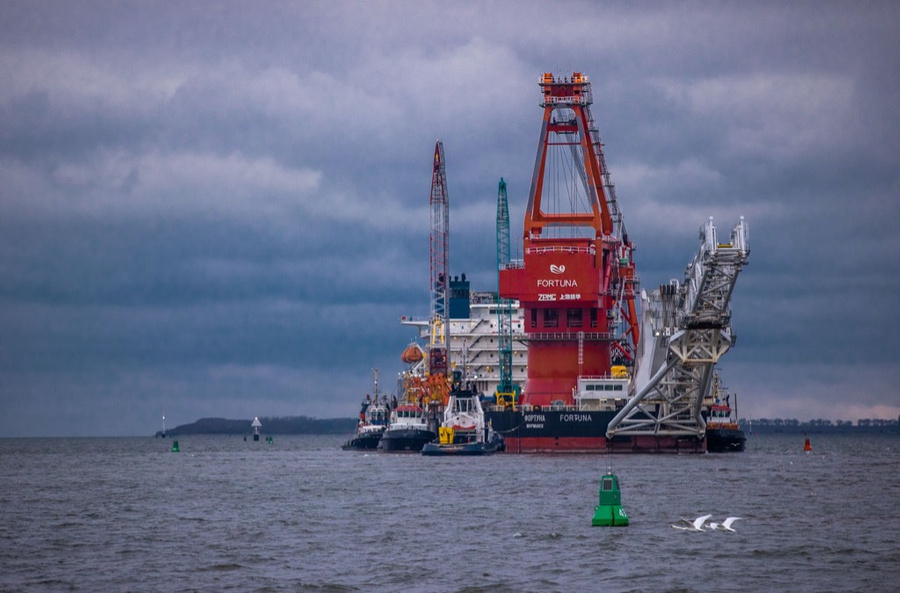 "<p>Российское судно ""Фортуна"". Фото © ТАСС / DPA / Jens Büttner</p>"