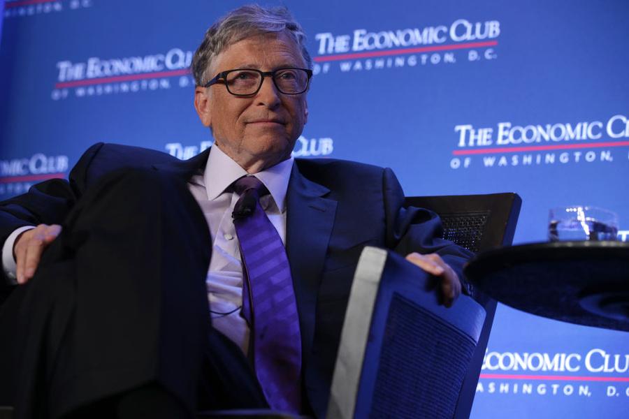 <p>Билл Гейтс. Фото © Alex Wong / Getty Images</p>