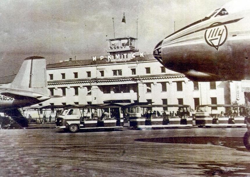 Аэропорт Иркутск. Фото © irkipedia.ru