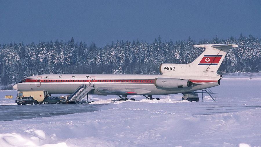 Северокорейский Ту-154Б. Фото © Wikipedia