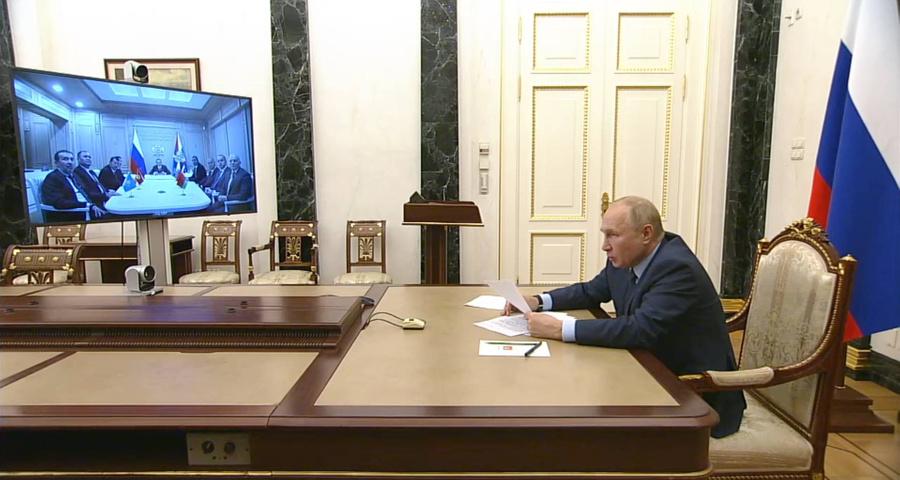 <p>Скриншот видео © Kremlin.ru</p>