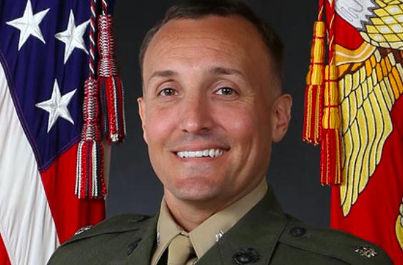 <p>Стюарт Шеллер. Фото © The United States Marine Corps</p>