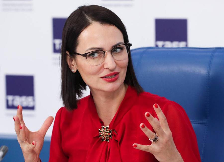 Председатель правления Совета матерей России Татьяна Буцкая. Фото © ТАСС / Владимир Гердо