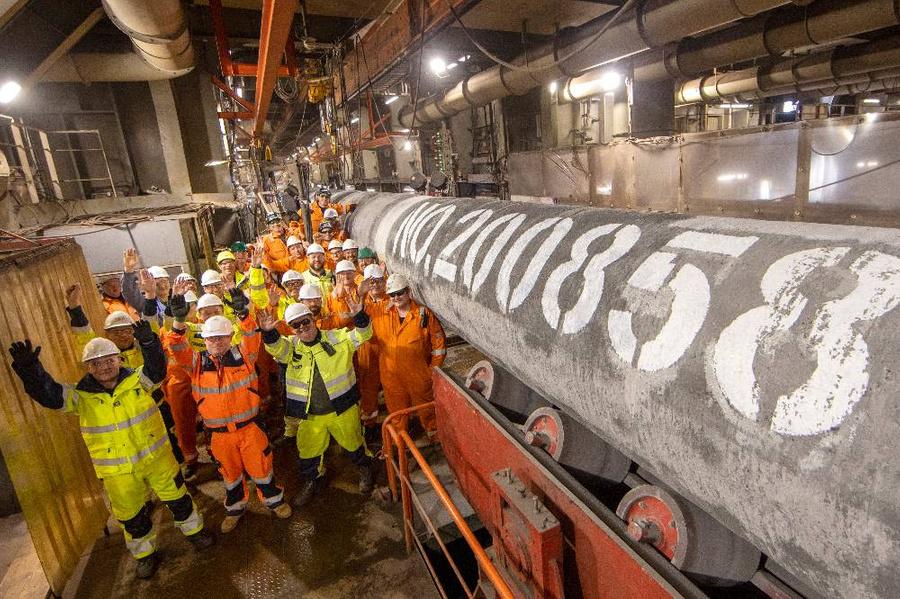 <p>Фото © Axel Schmidt / Nord Stream 2</p>