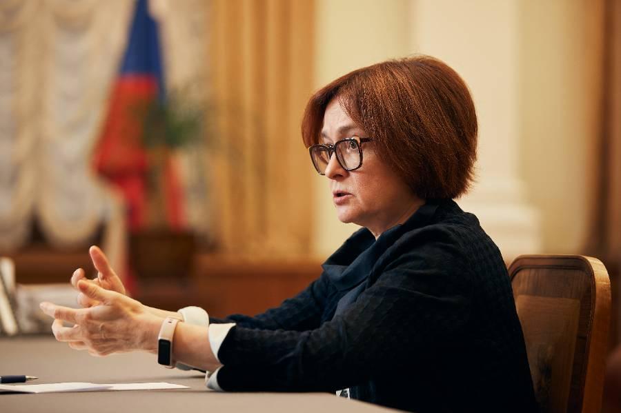 <p>Глава Центрбанка России Эльвира Набиуллина. Фото © ТАСС / РБК / Владислав Шатило</p>