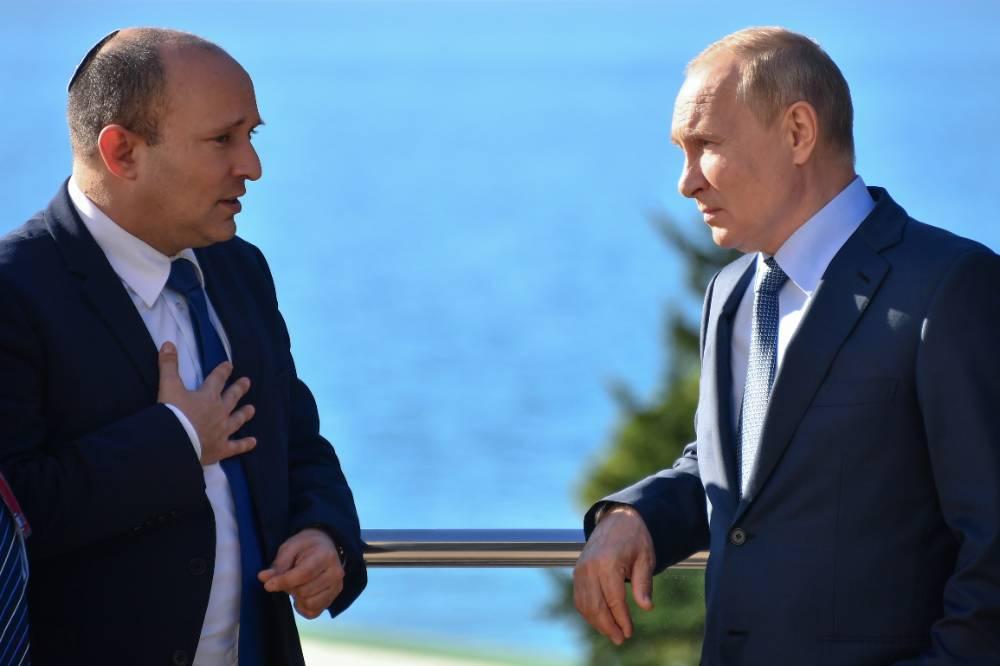 Стали известны темы, которые Путин и премьер Израиля обсуждали на встрече в Сочи